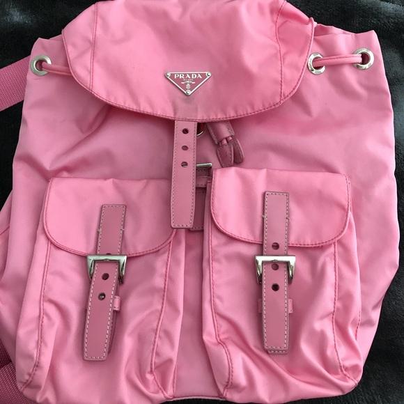 22c487a27215 Prada Pink Backpack (Vela Sport Begonia). M_5a8c606645b30c06eb8cb6bb
